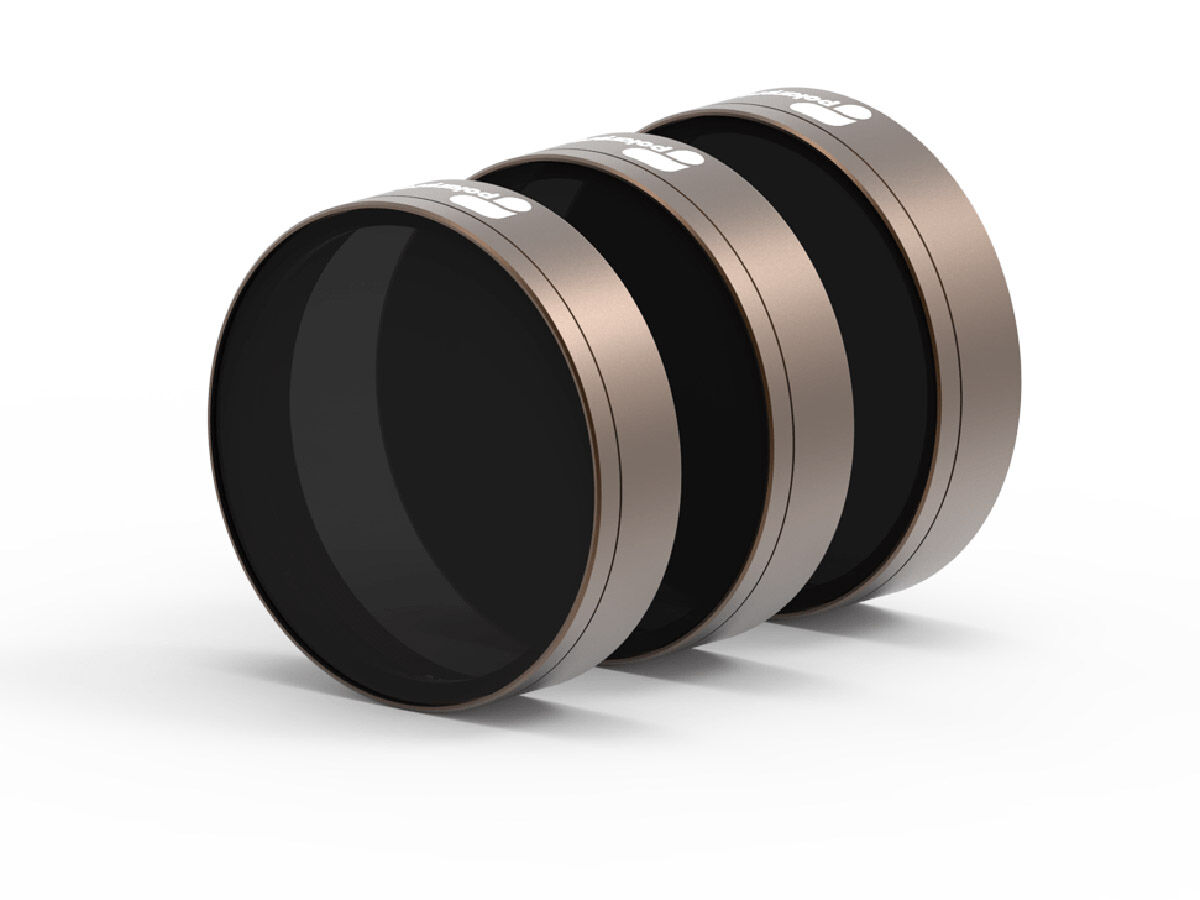 Polar Pro Cinema Series Shutter Collection ND filter 3-pack