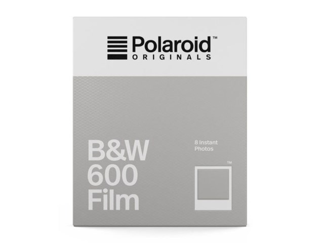 Polaroid Originals Film B&W 600 (svartvit) till 600 / I-Type