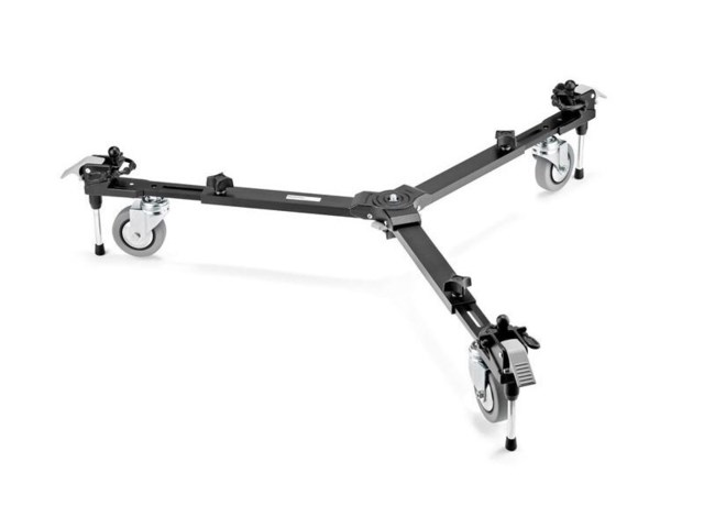 Manfrotto VR dolly justerbar aluminium svart