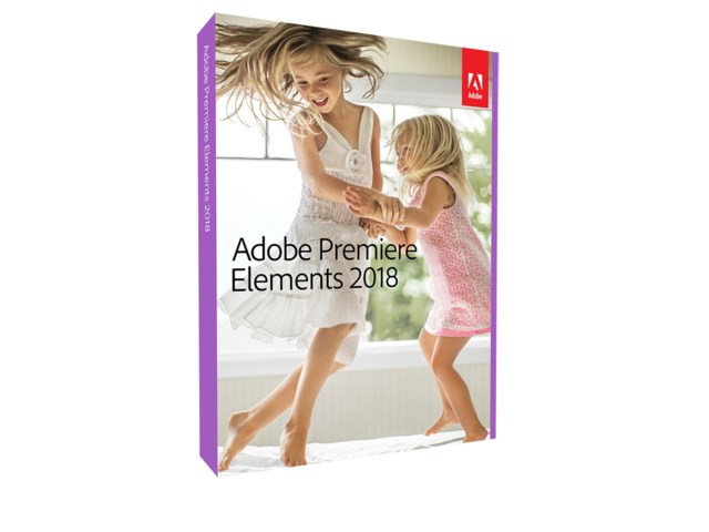 Adobe Premiere Elements 2018 Engelska för Windows/Mac