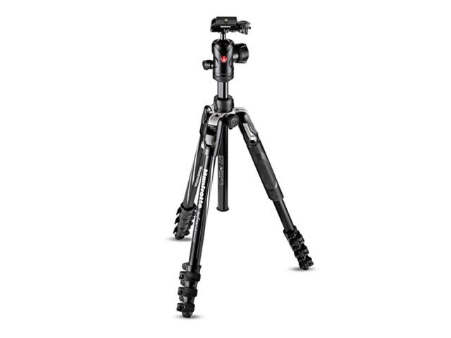 Manfrotto Jalustapaketti Befree Advanced Flipp musta alumiini