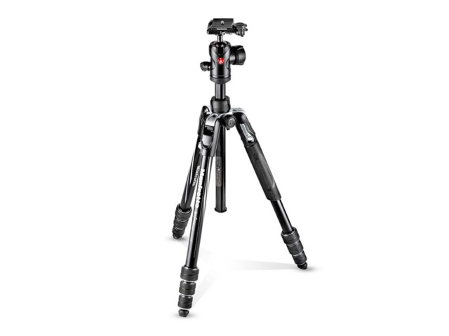 Manfrotto Jalustapaketti Befree Advanced Twist musta alumnium