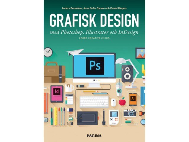 Bok Grafisk Design med Photoshop, Illustrator