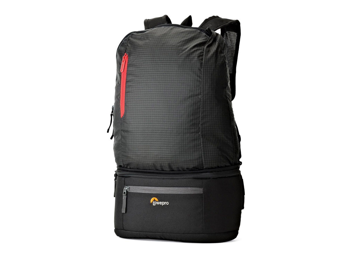 Lowepro Kameraryggsäck Passport Duo svart