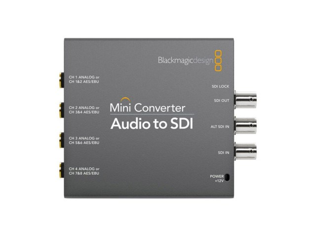 Blackmagic Design Mini converter - Audio / SDI 2