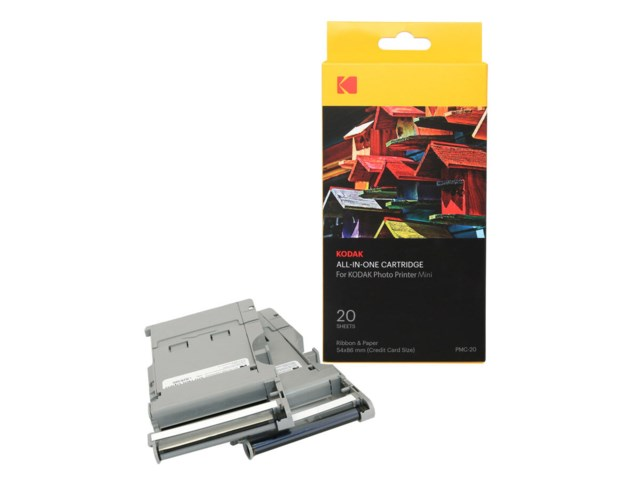 Kodak All-In-One Cartridge 20-pack till Minishot /