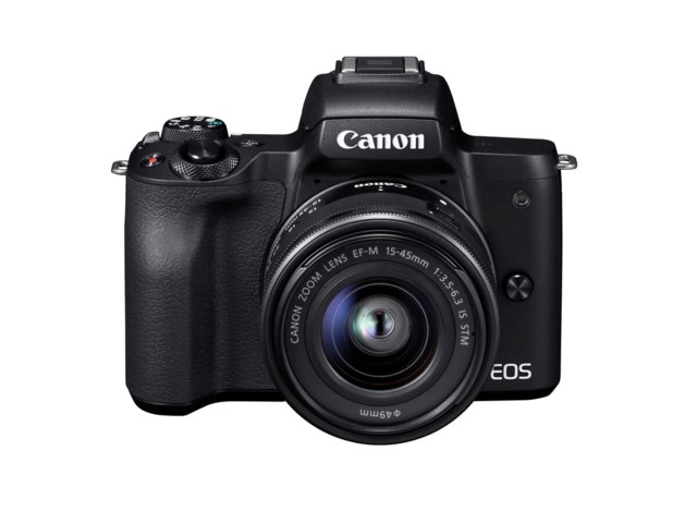Canon EOS M50 musta+EF-M 15-45mm f/3,5-6,3 IS STM