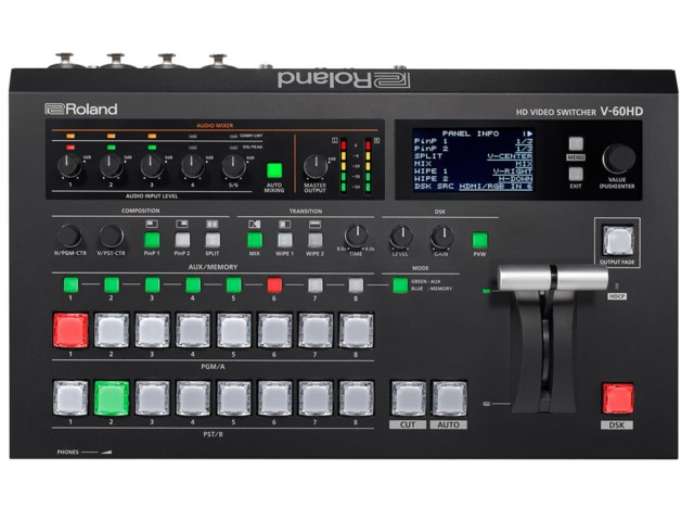 Roland V-60HD HD Video Switcher