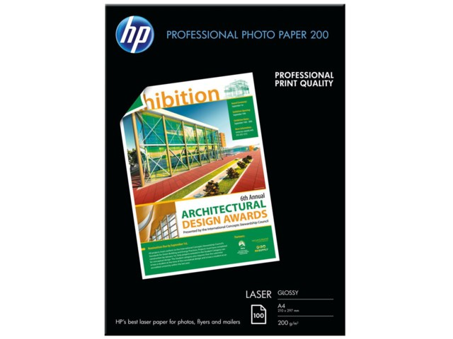 Hp Professional Glossy Laser Photo A4 200gr 100arkkia