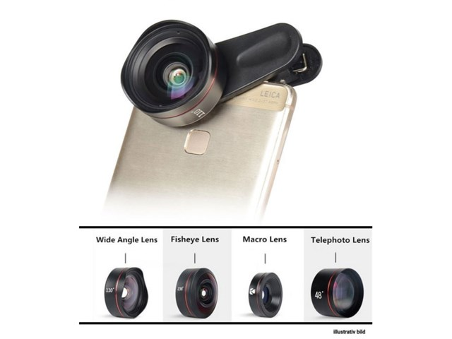 Kase Mobile Phone Lens KIT 4 in 1 Pro kit