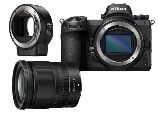 Nikon Z6 + NIKKOR Z 24-70mm f/4 S + FTZ Adapter