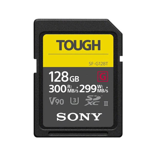 Sony Minneskort Secure Digital SF-G Tough 128GB SDXC
