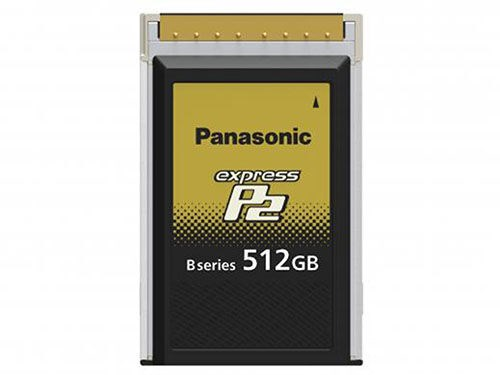 Panasonic Minneskort P2-kort Express 512GB, AU-XP0512BG