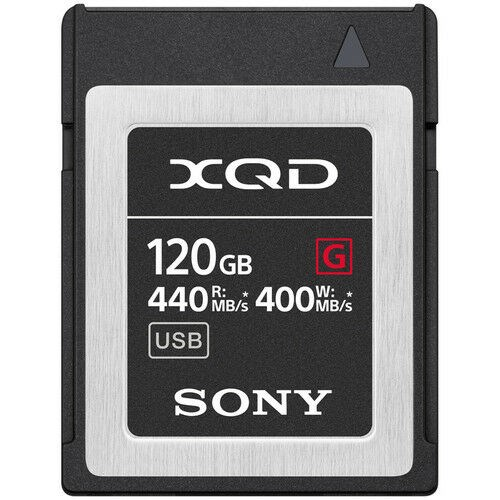 Sony Muistikortti XQD G Series High Speed 120GB
