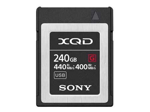 Sony Muistikortti XQD G Series High Speed 240GB
