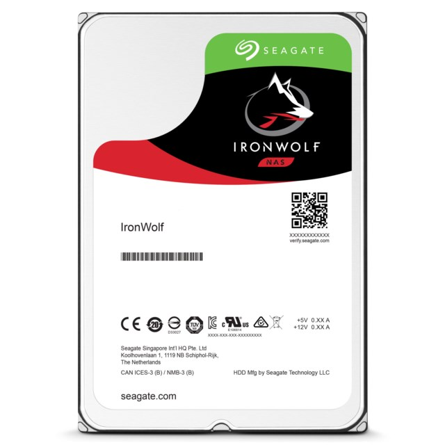 Seagate IronWolf 8TB 7200rpm - ST8000VN0022