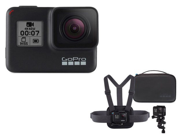 GoPro Hero 7 Black med sports kit