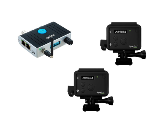 Timecode Systems Pulse and 2x SyncBac PRO  for GoPro HERO6 Bundle