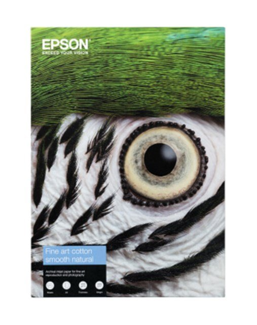 Epson Fine Art Cotton Smooth Natural A3+ 25arkkia