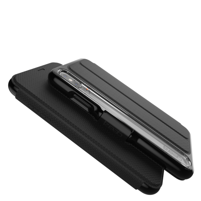 Gear4 D3O Oxford iPhone Xs Max fodral, svart