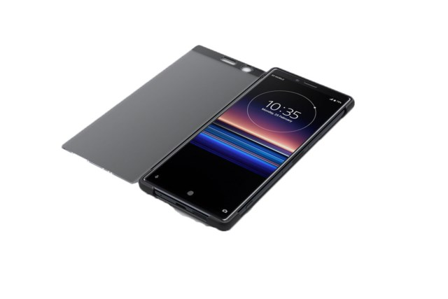Sony Xperia 1 Style Cover Touch musta