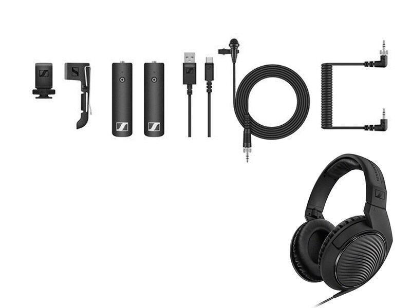 Sennheiser HD 200 PRO kuulokkeet