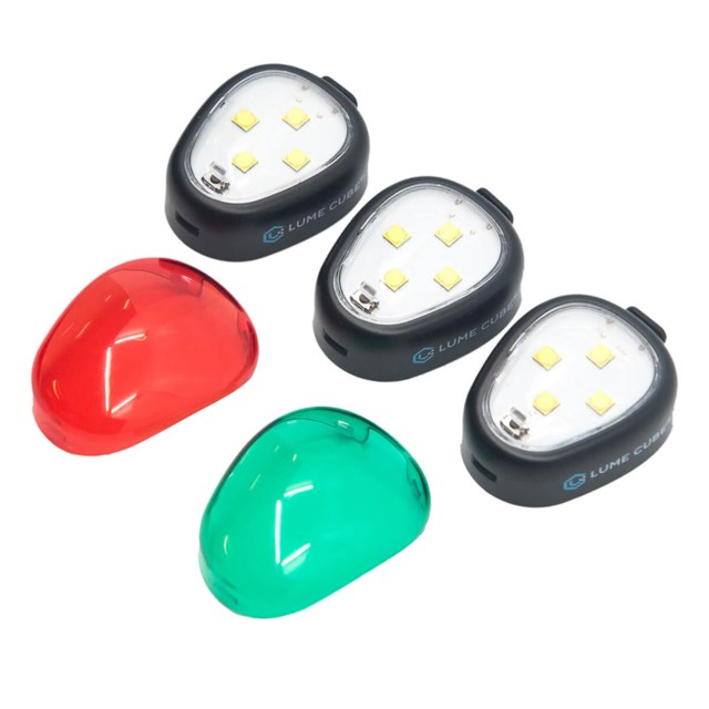 Lume Cube Strobe Anti Colison Light 3PK