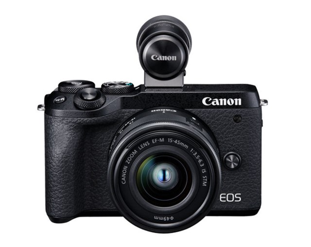 Canon EOS M6 MKII + EF-M 15-45/3,5-6,3 IS STM + EVF DC1