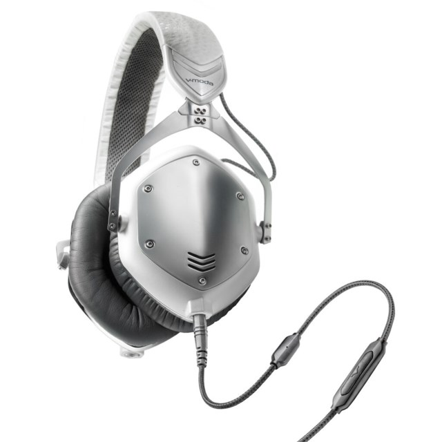 V-Moda Crossfade M-100 On-Ear White Silver