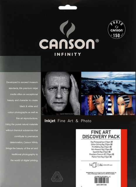 Canson New Fine Art Discovery Pack A4 14Blad