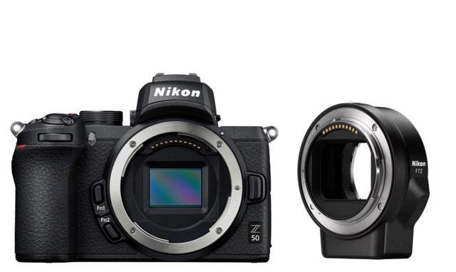 Nikon Z50 + FTZ-adapter