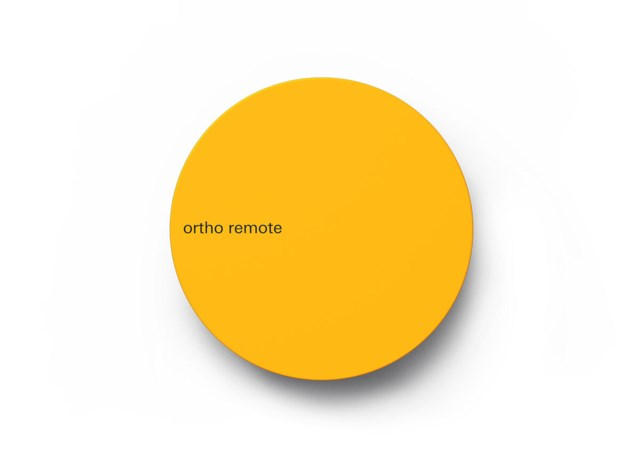 Teenage Engineering Ortho remote controller - yellow