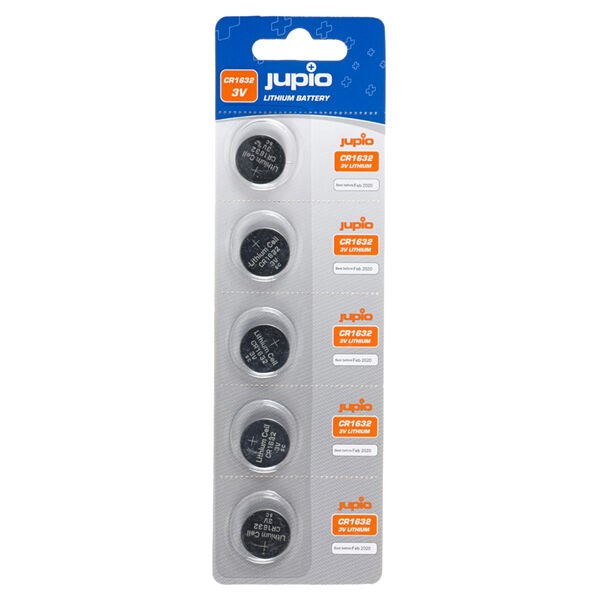 Jupio CR1632 3V Lithium Batteri 5-pack