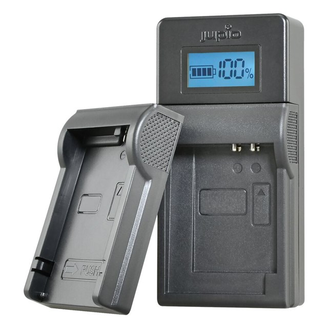 Jupio USB Brand Charger for JVC/Samsung/Sony 3,6V-4,2V batteries