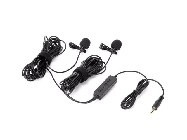 Saramonic LavMic 2m Dual Wired Lavalier Microphone