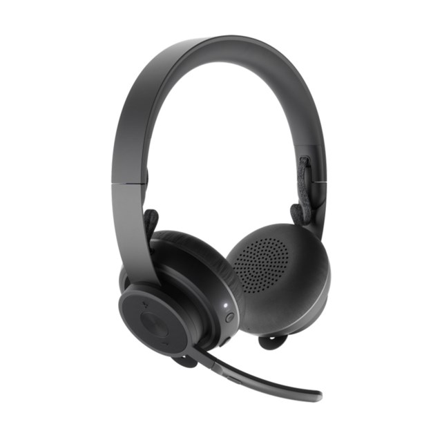 Logitech Zone Wireless Headset Bluetooth - Musta