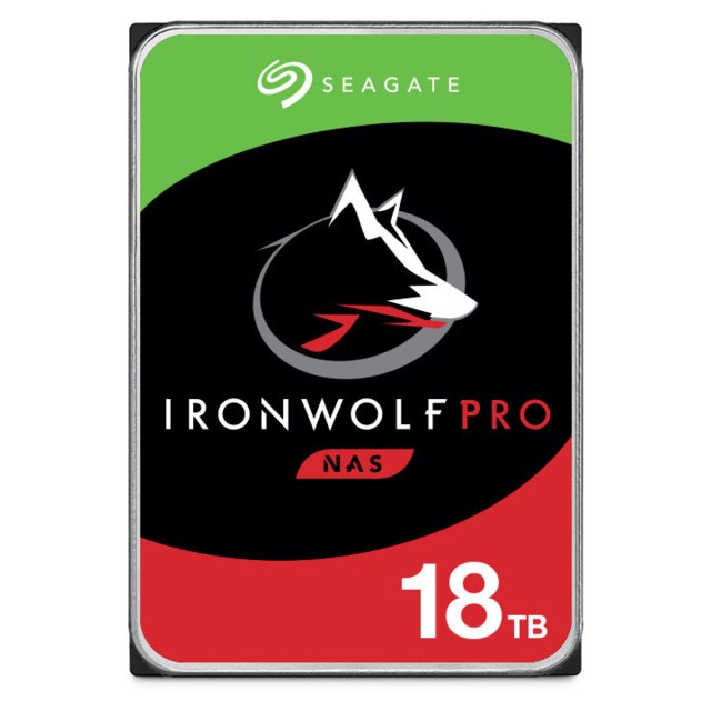 "Seagate IronWolf Pro 18TB 7200rpm 3,5"" intern HDD NAS"