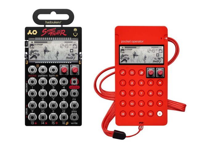 Teenage Engineering PO-133 Street Fighter + CA-X Red