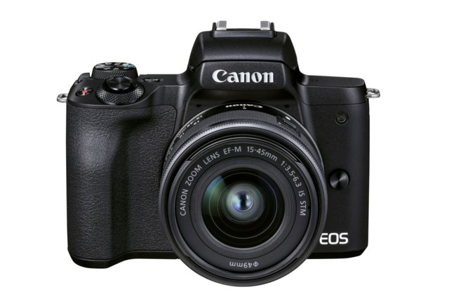 Canon EOS M50 Mark II musta + EF-M 15-45mm f/3,5-6,3 IS STM