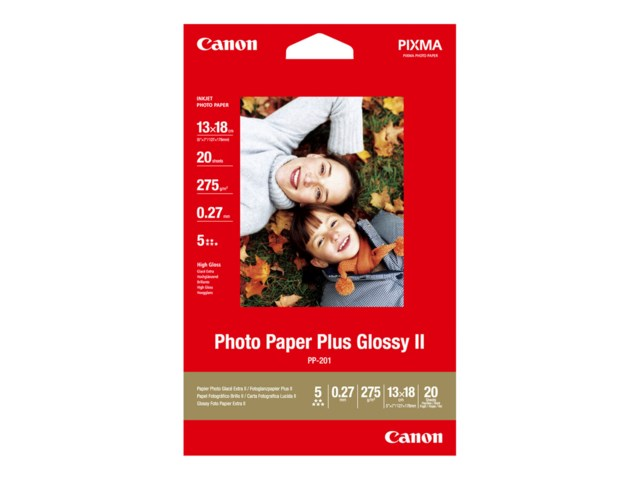Canon 13x18 PP-201 Photo Paper Plus Glossy II 275 gr 20
