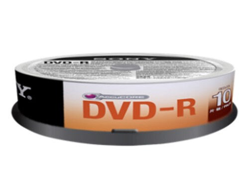Sony DVD-R 4,7GB 16x Jewel case 10-pakk