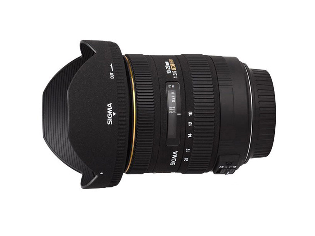 Sigma 10-20mm f/3,5 EX DC HSM Pentaxille