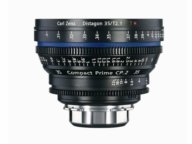 Zeiss Compact Prime CP.2 35mm T2.1 Canon EF-mount