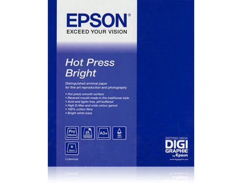 "Epson Rulla Hot Press Bright 17"" x 12,5m"