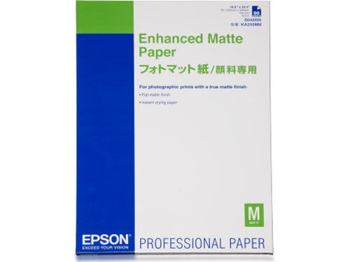 Epson A3+ Enhanced Matte 192gr 100 sivua