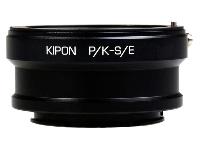 Kipon Adapter PK objektiv - E-Mount kamerahus