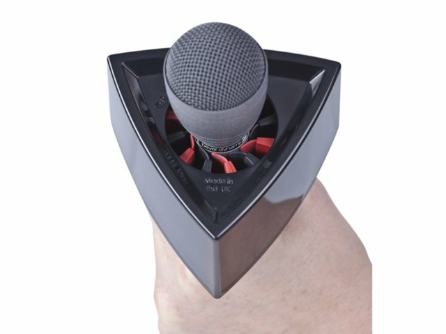 Rycote Triangular mic flag svart