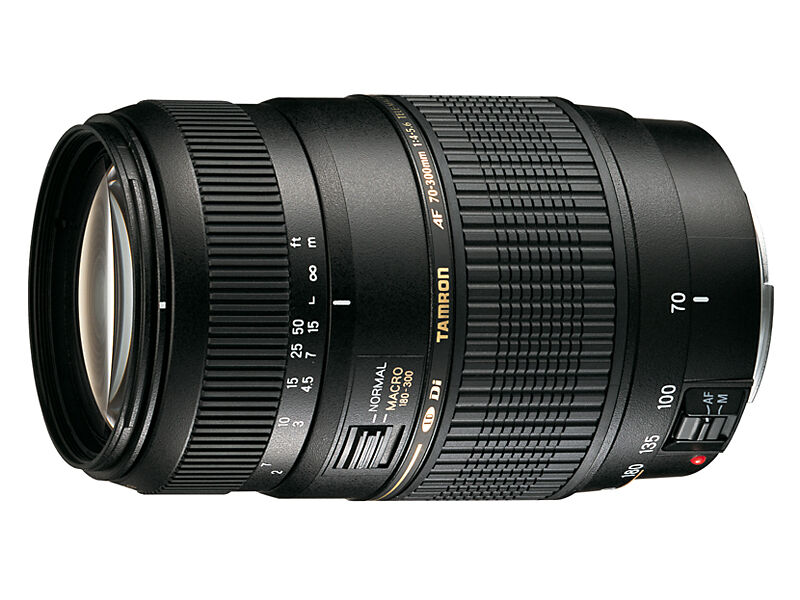Tamron AF 70-300mm f/4-5,6 Di LD Macro 1:2 Canonille